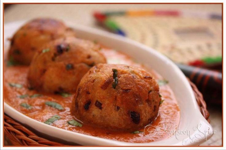 ... dishes --Malai Kofta, cottage cheese balls served in tomato gravy