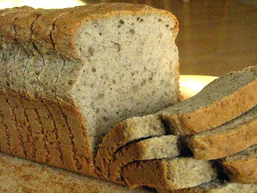 multi-grain bread. When I eat bread it's this kind for sure!