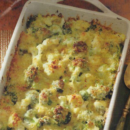 CAULIFLOWER & BROCCOLI GRATIN | Favorite Recipes | Pinterest