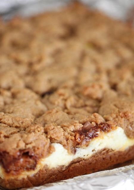 "Peanut Butter Cookie and Cream Cheese ""Candy"" Bars"