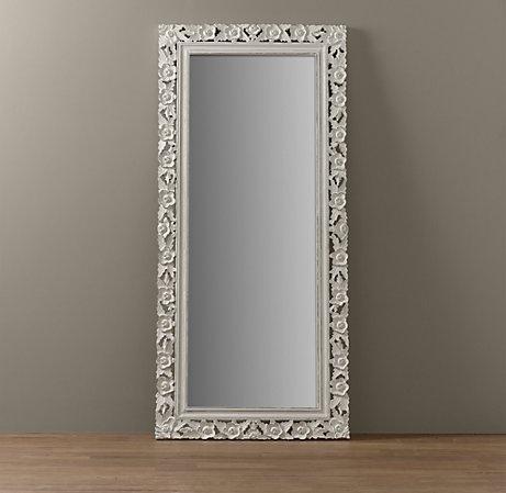 Full length mirror for the girls 39 room kids girly for Kids room mirror