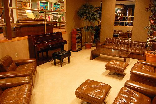 Elvis Presley's Racquetball Building Lounge, Graceland Mansion, Memphis, Tennessee