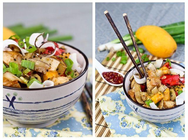 Spicy Mango and Coconut Chicken | Recipe