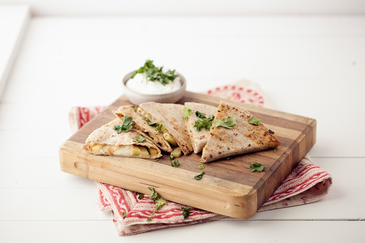 Grilled Cumin-Lime Zucchini Quesadilla. I've made this so many times ...