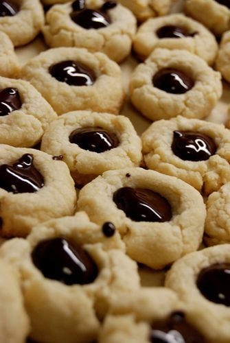 Chocolate Thumbprint Cookies | A Smart Cookie | Pinterest