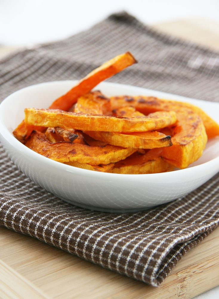 "Baked Butternut Squash ""Fries""....so very yummy! We all were fighti..."