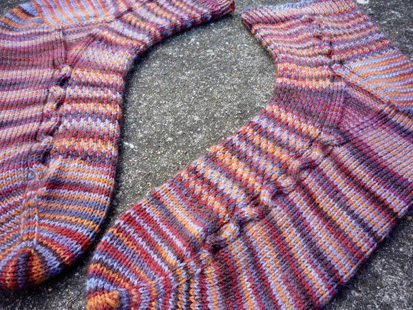 Chimaera socks: Knitty Winter 2012 | knits and knots and crochets | P ...