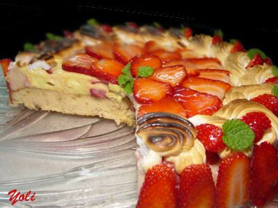 Strawberry tart with lemon cream | Recipes to Try - Strawberries | Pi ...