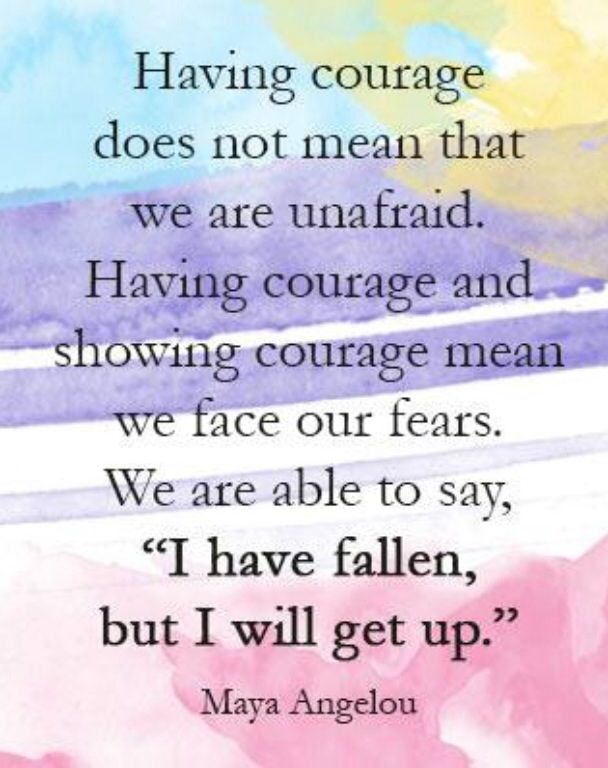 having courage inspirational quotes pinterest