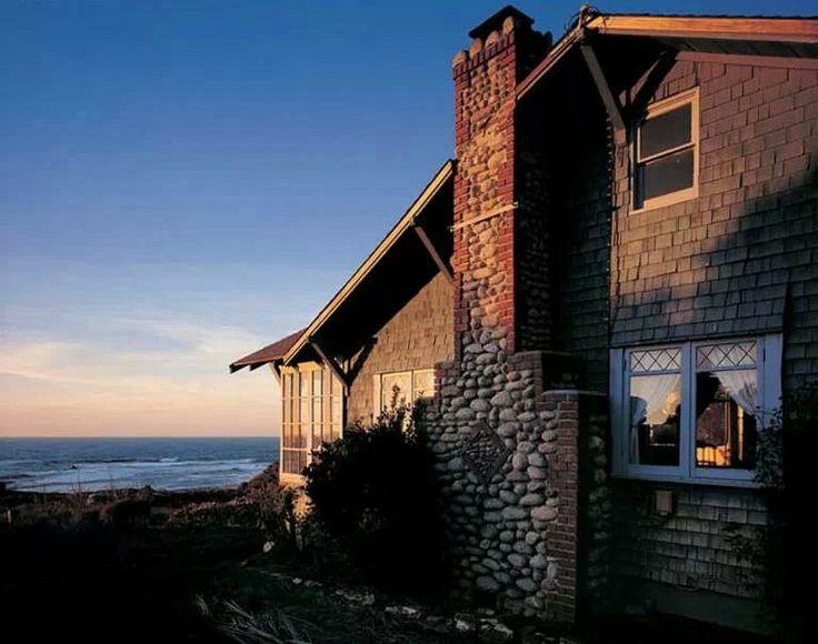 Seaside Craftsman - Arts & Crafts - Home - Chimney   Arts and Crafts ...
