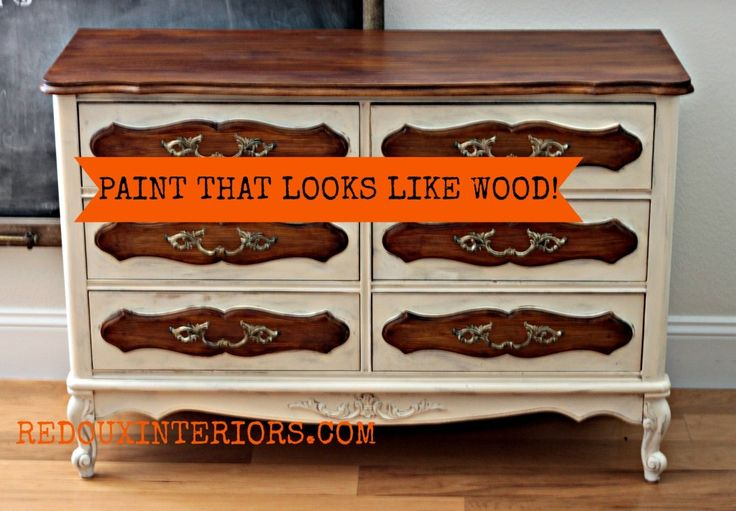 Paint That Looks Like Wood Cheepo Furniture Tricks Pinterest