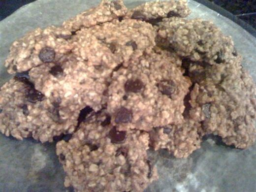 Cookies - sub the canola oil for coconut, use honey instead of agave ...
