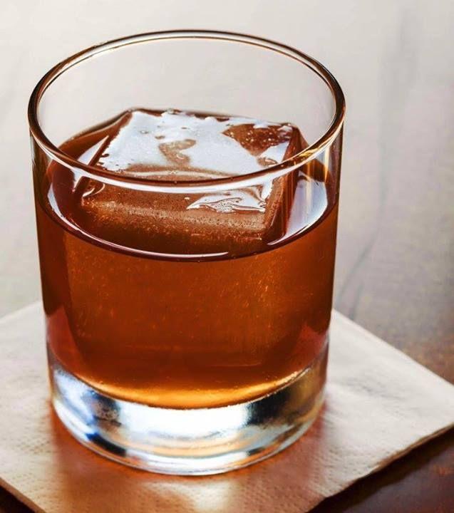 Winter Milk Punch: Bourbon, Dark Rum, Citrus and Milk. #FoodRepublic