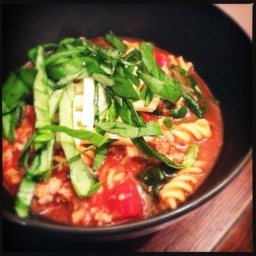 Hearty Italian Soup | healthy soups,chowders and chili | Pinterest