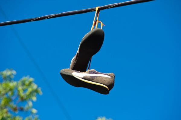 The Shoes on Power Lines