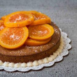 Orange Walnut Cake with Candied Oranges   Tastes Sweet   Pinterest
