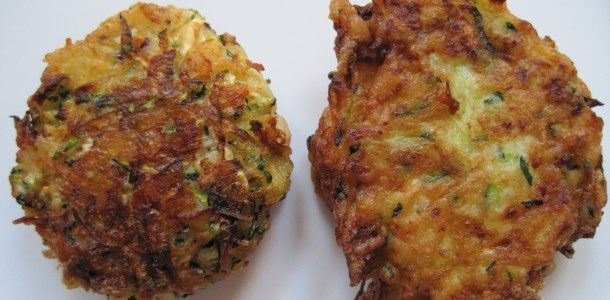 Kolokithokeftedes (Greek Zucchini Fritters) With Tzatziki Recipes ...