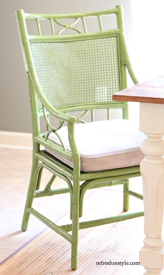 Captains chair in the dining room great painting tips too for fast
