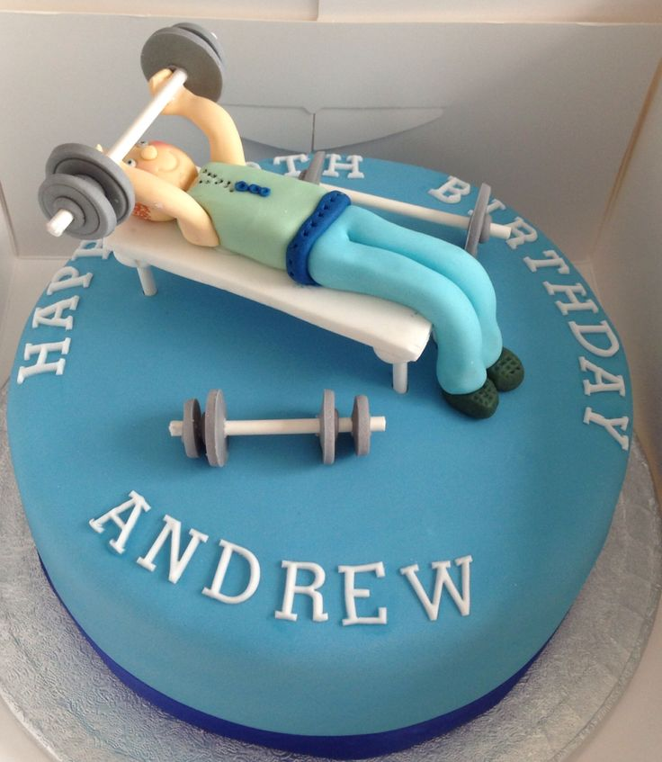 Weight Lifting Cake Cake Ideas And Designs