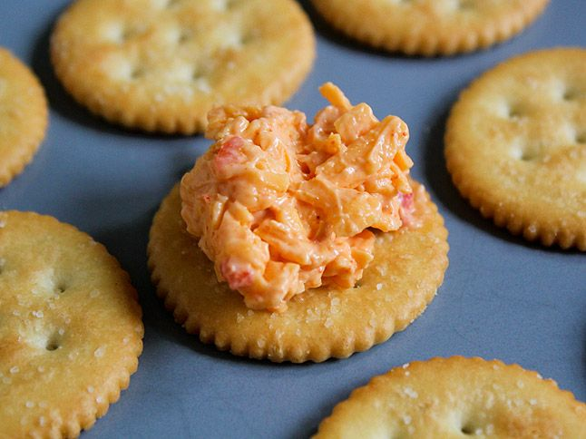 Classic Pimento Cheese - oh how I love me some pimiento cheese!