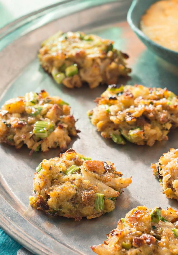 Mini Crab Cakes – Want to thrill the party crowd? Include these Mini ...