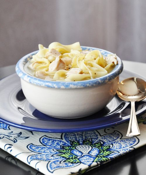 Easy Homemade Chicken Noodle Soup | Recipe