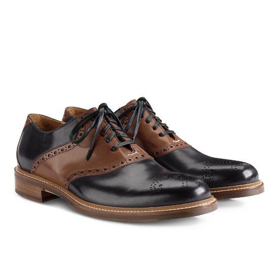 Ellwood Saddle Oxford - Men's Shoes: Colehaan.com