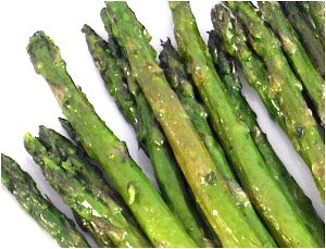 Simple and Delicious Roasted Asparagus-Roasted asparagus adds a nice ...