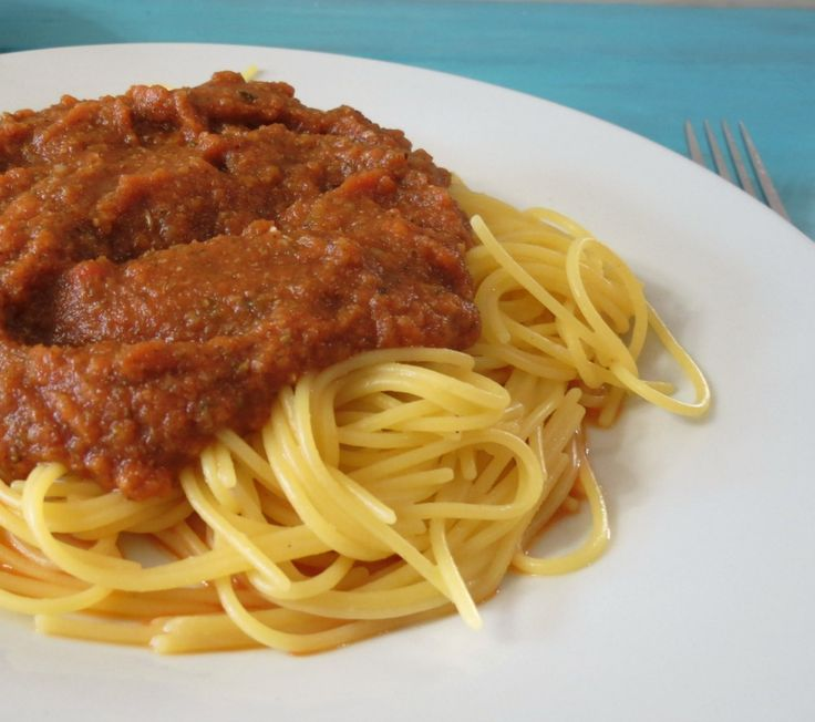 Roasted Vegetable Pasta Sauce - A homemade healthy, slow cooked, thick ...