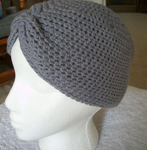 Free Crochet Turban Hat Pattern. Free Crochet Womens ...