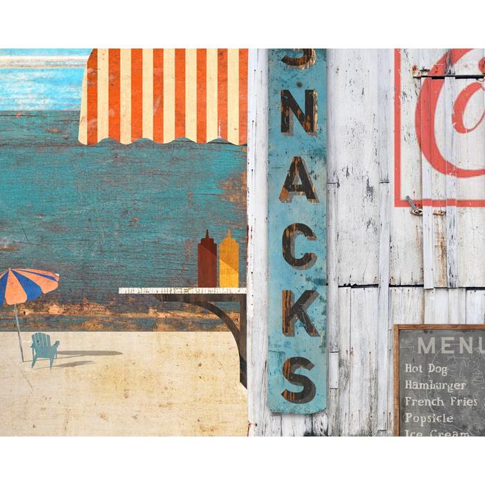 Beach Menu Sign / $76.95 | Art, Prints & Posters: Generic | Pinterest