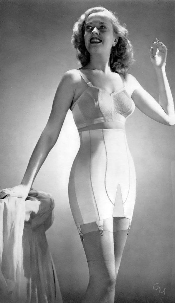Girdle love vintage lingerie amp foundations iii pinterest