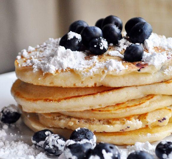 lemon ricotta pancakes | Goodmorning! Breakfast is ready! | Pinterest
