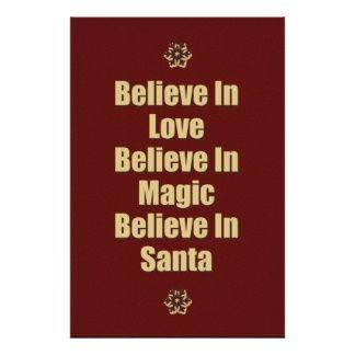 Believe In Santa Quotes Pinterest