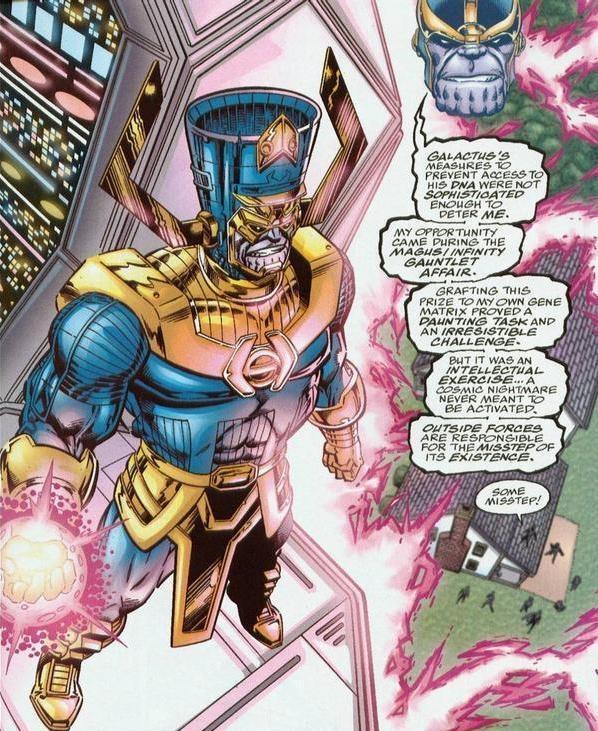 galactus vs thanos - photo #10