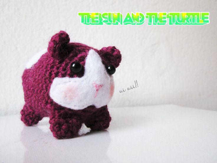Free Amigurumi Patterns Guinea Pig : Amigurumi guinea pig free crochet pattern