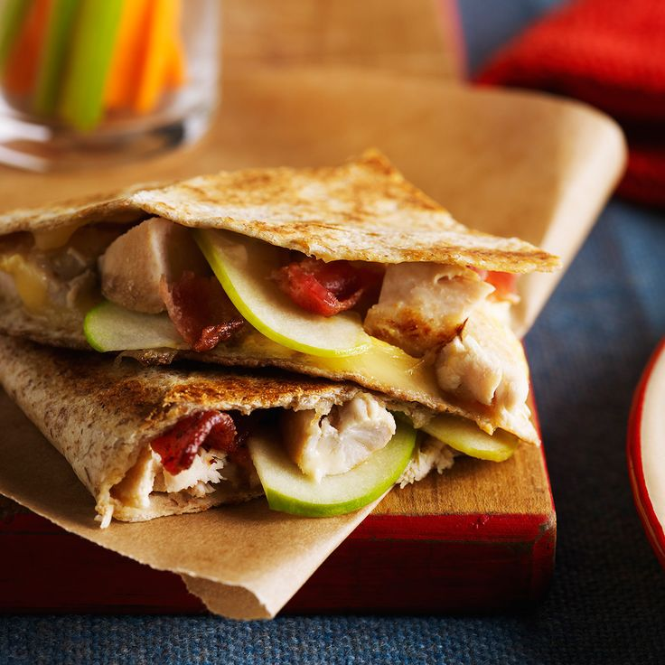 Grilled Cheese, Bacon & Chicken Quesadilla love this Recipe of the ...