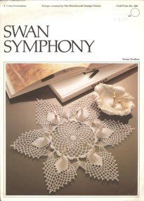 Free Crochet Swan Doily Pattern : Swan doilies free pattern Crochet It -- Coasters ...