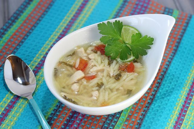 Cooking on the Front Burner: Yucatan-Style Chicken, Lime and Orzo Soup
