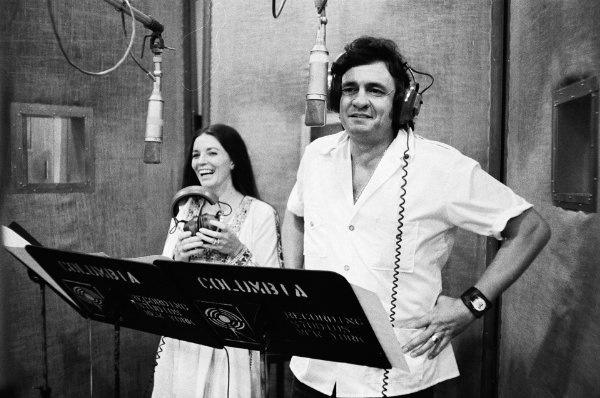 Johnny And June Carter Cash Musicians Pinterest