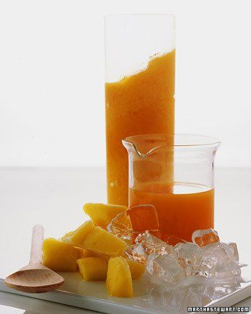 Carrot-Mango Smoothie _ This breakfast alternative starts with carrot ...
