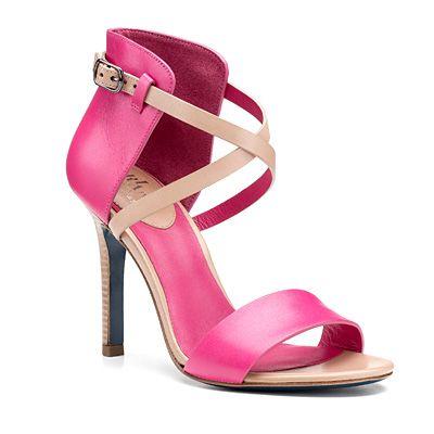 Cole Haan Oiled vachetta sandal