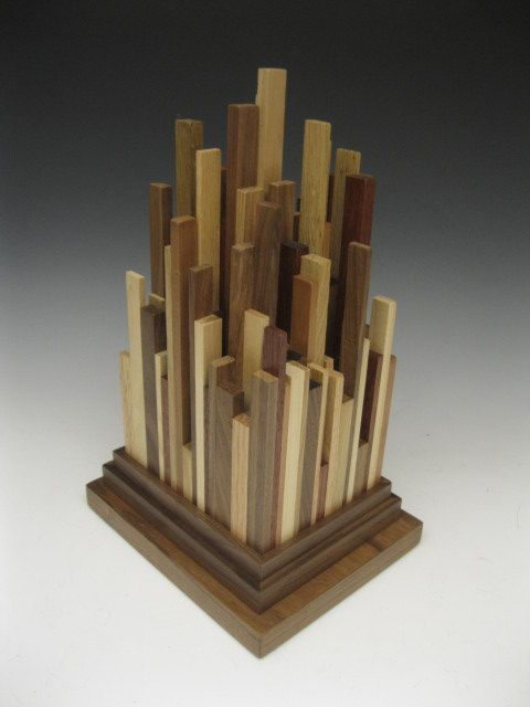Modern Abstract Wood Sculpture By Stevefrank71 On Etsy