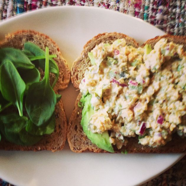 vegan tuna salad | curious girl | Pinterest