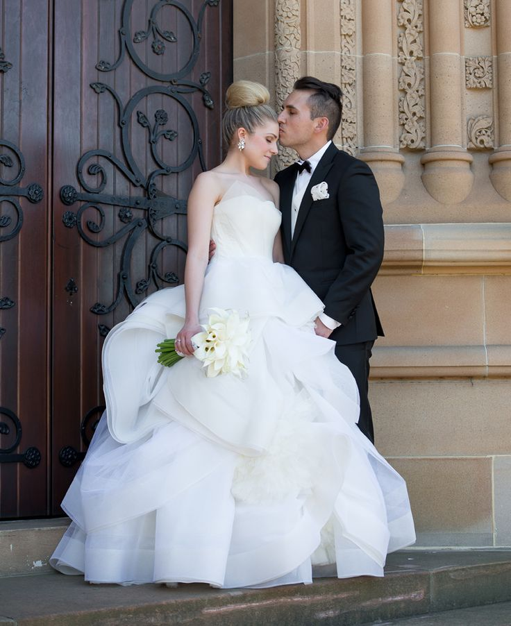 Real Wedding | Angie and Paul | Katherine Gown | Photographer - Sevenish Photography #RealWedding