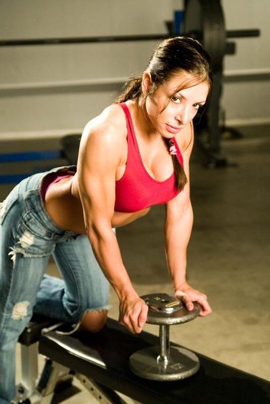 erika thompson | Muscular women | Pinterest