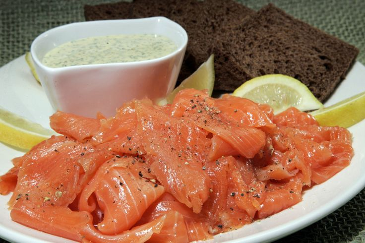 Dill & Lemon Pepper Gravlax Recipe — Dishmaps