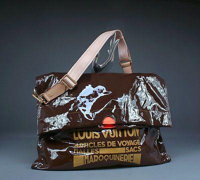 louis vuitton raindrop besace trash bag rare limited edition messenge