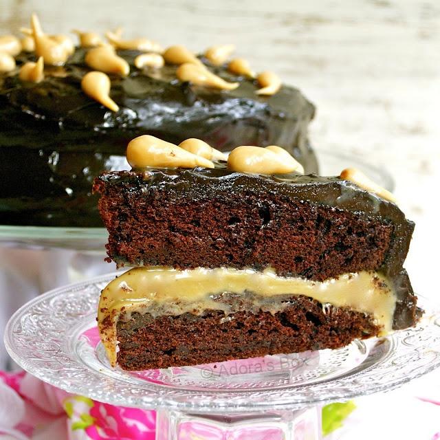 Chocolate Caramel Layer Cake Recipes — Dishmaps