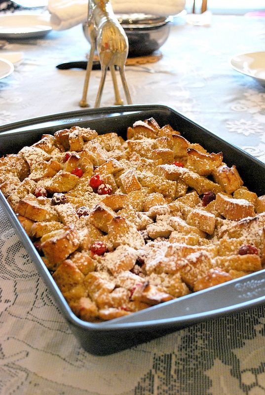 baked french toast baked berry cream cheese french toast baked eggnog ...